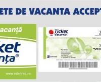 TICKETE DE VACANTA